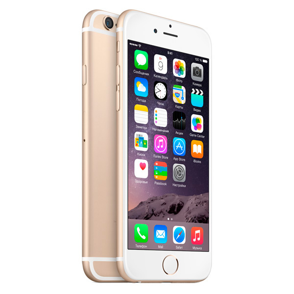 iPhone 6 16Gb Gold (Б/У) - Отличное