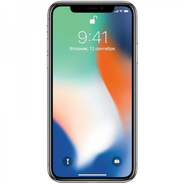 iPhone X 64Gb Silver (Б/У)