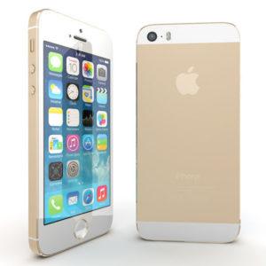 iPhone 5S 16Gb Gold (Б/У) - Отличное