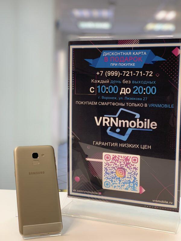 Samsung J6 2018  3/32 Gb